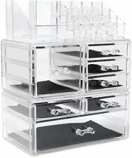 Jewellery Storage Box Acrylic Cosmetics organiser Lipsticks Makeup Organizer