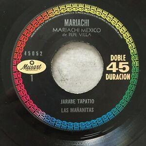 MARIACHI MEXICO DE PEPE VILLA: Mariachi (MEX EP Musant 45052 / NM)