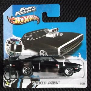 Hot Wheels 2013 HW City 003/250 '70 Dodge Charger R/T - Fast & Furious