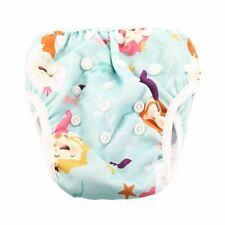 Reusable Swim Nappy Diaper Newborn Baby Toddler Swimming Unisex Boy Girl Mermaid