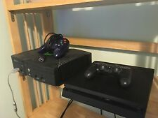 Original Xbox Console - Cables - Controller - Tested Works - Comes with 19 games