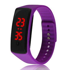 Waterproof Fashion Men/Women Sport Rubber Bracelet LED Digital Wrist Watch Band