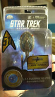 Star Trek Attack Wing U.S.S. Enterprise NCC-1701-E / with STO Code