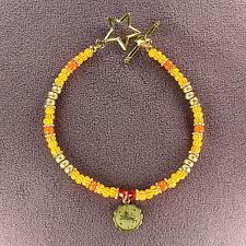 LEO ZODIAC CHARM BRACELET Amulet Astrology Stars Sun Signs Symbol Horoscope