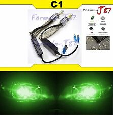 LED Kit C1 60W H3 PK22s Green Two Bulbs Head Light Upgrade No Fan Cool