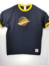 Vintage Hockey Vancouver Canucks XL T Shirt Bulletin 100% Cotton