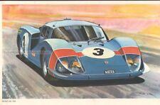 SPORT CARS - MATRA 630 * VERY RARE GERMAN CAR POSTER from 1968