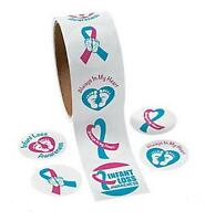 100 Infant Loss Awareness Stickers 1 1/2 Inches. Show Your Support