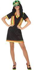Déguisement Femme JAMAICAINE M/L 40/42 Reggae Hippie NEUF Pas cher