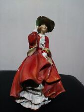 Antique Royal Doulton Top of the Hill Bone China Lady Figurine 1834