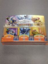 Activision Skylanders Giants Three Pack POP FIZZ, WHIRLWIND & TRIGGER HAPPY  New