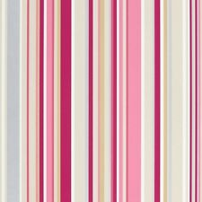 Harlequin Candy Stripe Pink Striped Wallpaper Wall Covering Metallic Stripes