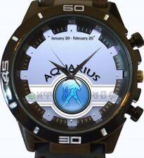 Reloj Pulsera zodiac sign Aquarius Nuevo Deportivo GT Series