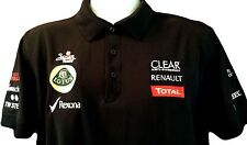 LOTUS Ogio Polo Style Short Sleeve Shirt  Med. Japan Rags Renault Total