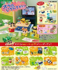 Re-Ment Miniature Japan Crayon Shinchan Room Furniture Full set 8 pieces Rement