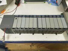 Allen BRADLEY controllo Logix completa unità PLC con 13 SCHEDE SLOT RACK &
