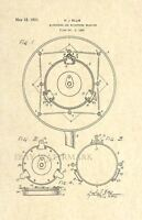 Official Microphone US Patent Art Print - Vintage 1931 Antique - Art Deco 125