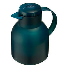 Emsa Samba Insulating Jug Quick Press 1 L Turquoise Jug 505719 Coffee Tea