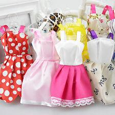 Nice 10Pcs Fashion Handmade Dresses Clothes For Barbie Doll Style Random