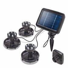 solaire LED éclairage d'étang Lampe sous-marine Luminaires Spot