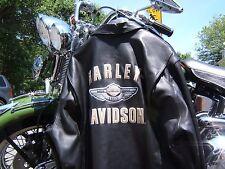 HARLEY DAVIDSON 100th ANNIVERSARY LEATHER JACKET USA BOMBER SPRINGER XXX-L