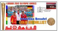 SEBASTIAN BRENDEL 2012 OLYMPIC GERMANY GOLD MEDAL COV