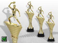 Pokale Tischtennis 3er Pokalserie OLYMP mit Gravur günstige Pokale kaufen
