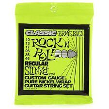 Ernie Ball 2251 Classic Pure Nickel Slinky Electric Guitar Strings 10-46