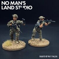 Pro Painted 28mm Modern Wargaming - Task Force Operators - 2x Spectre Miniatures