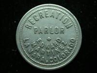 La Jara, CO Recreation Parlor 10¢ Token #1
