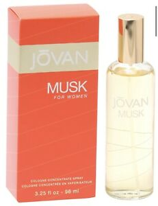 Jovan Musk Perfume for Women 3.25 oz Cologne Spray - Brand New In Box
