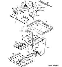 NEW OEM GE Range/Stove/Oven VALVE BURNER 3R 310 WB21X20472