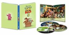 New! Disney Toy Story 3 4K Ultra HD + Blu-ray / Digital Steelbook