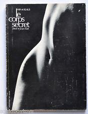 -le CORPS SECRET Mia & Klaus Nude Art/Photo BOOK 1969 -