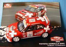 TOYOTA COROLLA WRC #101 RALLYE MONTE CARLO 2003 BURRI HOFMANN IXO 1/43 IDNEON