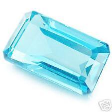 1,52 ct Light Blue Topaze - Emerald cut - VVS - Brazil