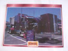 CARTE FICHE CAMION CONVOIS INTERNATIONAL TRUCK SHOW LAS VEGAS 1999