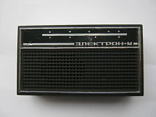 Vintage Soviet Russian Children Transistor Radio ELEKTRON M