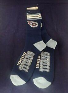 Tennessee Titans FBF ORIGINALS Full Length Socks (LARGE SIZE 10-13)BRAND NEW