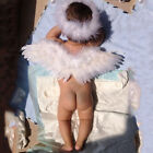 Infant Newborn Photo Prop Baby Angel Fairy Feather Wing Decoration Costume SM