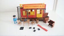 playmobil 3431 setnr. western well's fargo & Co house, building, store, vintage