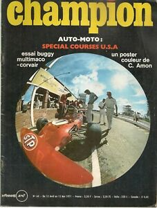 CHAMPION 64 1971 BUGGY MULTIMACO, MATRA MS120, MOTO 200 MILES DE DAYTONA