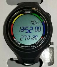 New Black Mares Smart Air W/ Transmitter Wrist Watch Dive Computer Perfect