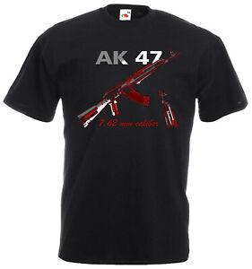 AK 47 kalaschnikov Waffe russland T Shirt USSR  CCCP