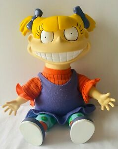 ANGELICA The Rugrats Nickelodeon Plush Toy Doll Figure 1997 RARE Vintage 35cm