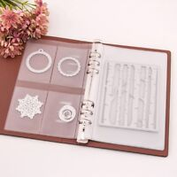 Scrapbooking DIY Cutting Dies Stencil Storage Book Collection Album Cover