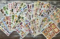 50 A4 Sheets of DECOUPAGE PAPERS Embossed Designs - Mixed Designs