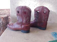 Tony Lama Tiny Lama Kid'S Size 4.5 D Tan Square Toe Boot - Ll506