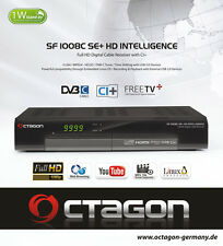 Octagon SF 1008C HD Intelligence SE+ Kabel FullHD CI+ Linux USB +  HDMI Kabel