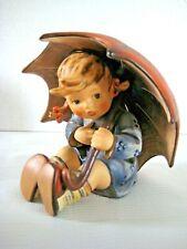 """Goebel Hummel Figurine """"Umbrella Girl"""" #152/0 B • Tmk6 • 5"""" Tall • Mint!"""